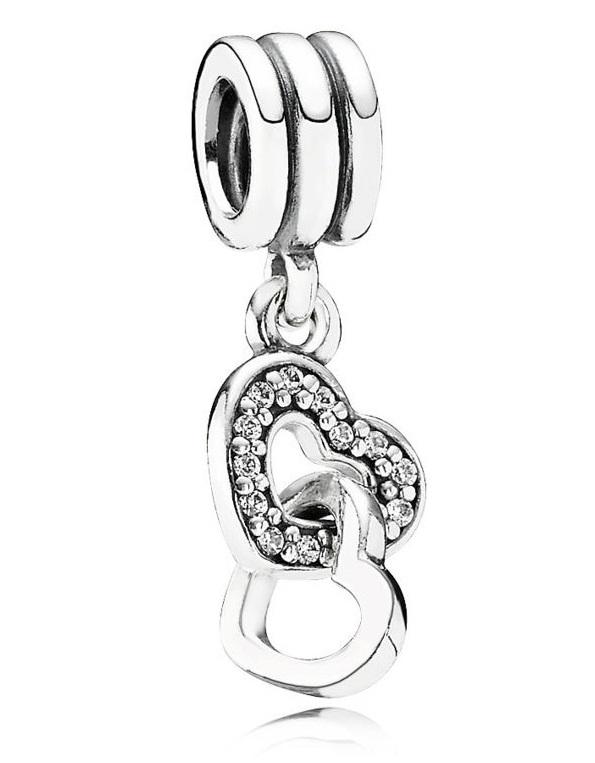 Pandora Hänger Verschlungene Herzen In Silber 925 Online Bestellen