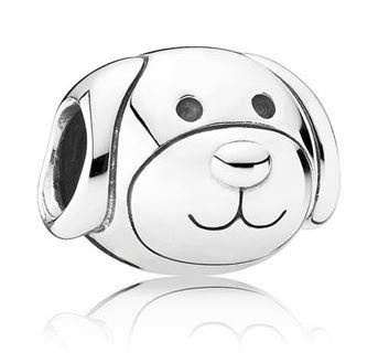 Pandora Hund in Silber 925