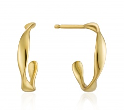 Ania Haie Creolen Twist Mini Hoop Gold