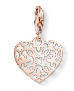 Thomas Sabo Charm Club Arabesque-Herz rosé