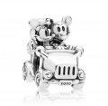 Pandora Charm Disney Mickey & Minnie Vintage Car