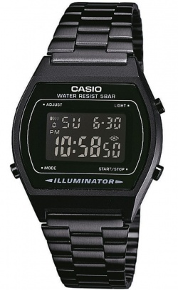 Casio All Black-Beauty