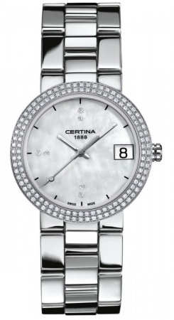 Certina DS STELLA mit Brillianten Damenarmbanduhr