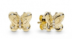 Pandora Ohrstecker Shine Decorative Butterflies
