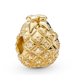 Pandora Charm Shine Golden Pineapple