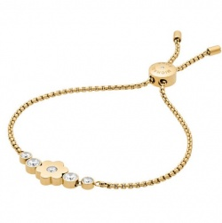 Michael Kors Armband Flower Power Vergoldet