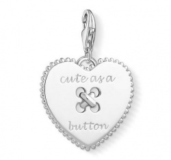 "Thomas Sabo Charm Club Herz ""Cute as a Button"""