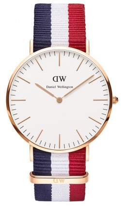Daniel Wellington Herrenarmbanduhr Classic Cambridge Rosé