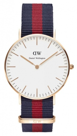 Daniel Wellington Herrenarmbanduhr Classic Oxford S