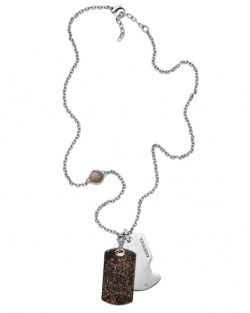 Diesel Collier Double Dogtag