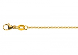Collier Panzer in Gelbgold 375