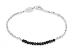 Engelsrufer Armband Plata Black Spinal