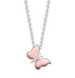 Esprit Collier Butterfly Rose