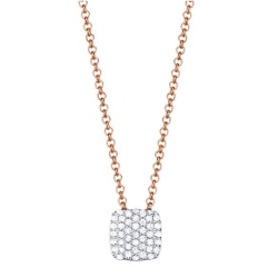Esprit Collier Glam Square Rose