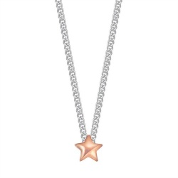 Esprit Collier Star Nugget Rose