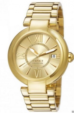 Esprit Collection Damenarmbanduhr Aletheia Gold