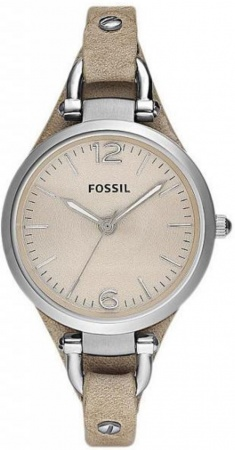 Fossil Georgia Good Hellbraun M