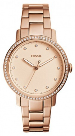 Fossil Neely Threehand Rotgold
