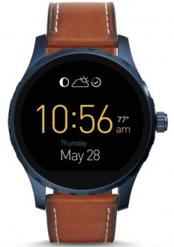 Fossil Q Marshal Smartwatch Blue