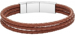 Fossil Armband Strings Braun