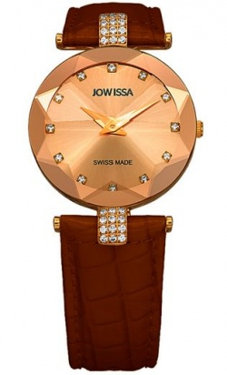 Jowissa Facet Strass bordeaux M