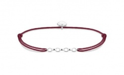 Thomas Sabo Armband Little Secret Chain Rot
