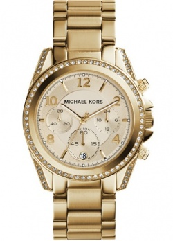 Michael Kors Blair Vergoldet