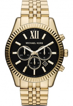 Michael Kors Lexington Chrono Gold