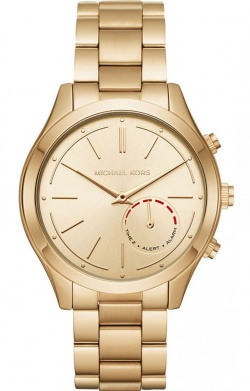 Michael Kors Acces Slim Runway Hybrid Smartwatch Gold