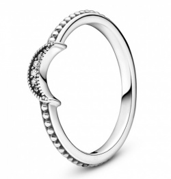 Pandora Ring Crescent Moon