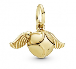 Pandora Harry Potter Anhänger Golden Snitch Shine