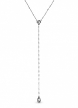 Pandora Collier Geometric Shapes Y-Necklace