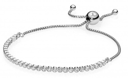 Pandora Armband Funkelndes Band in Silber 925