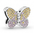 Pandora Clip Reflexions Bedazzling Butterfly