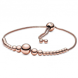 Pandora Armband Rose Beaded Slider