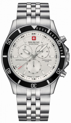 Swiss Military Flagship Chrono Weiss