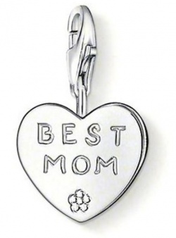 Thomas Sabo Charm Club Best Mom Silber