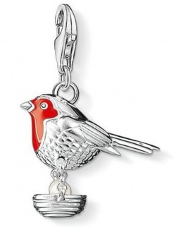 Thomas Sabo Charm Club Vogel Silber