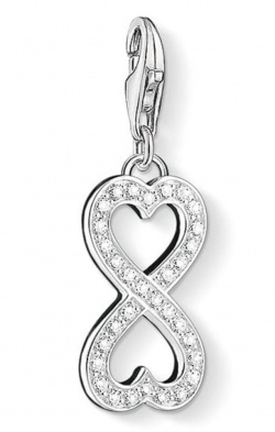 Thomas Sabo Charm Club Eternity Silber