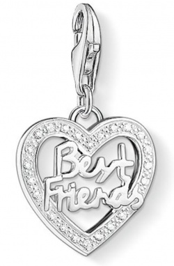 Thomas Sabo Charm Club Best Friends Silber mit Zirkonias