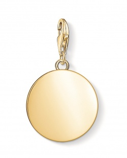 Thomas Sabo Charm Club Coin Gold L