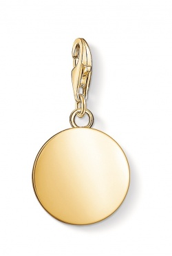 Thomas Sabo Charm Club Coin Gold M