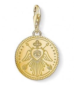 Thomas Sabo Charm Club Coin Gold