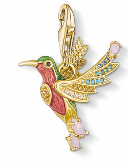 Thomas Sabo Charm Club Bunter Kolibri Gold
