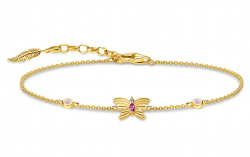 Thomas Sabo Armband Schmetterling Gold