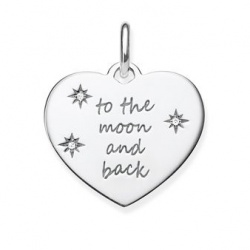 Thomas Sabo Love Bridge Anhänger Herz To The Moon And Back