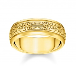 Thomas Sabo Ring Ornamente Gold