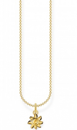 Thomas Sabo Collier Sonne Gold