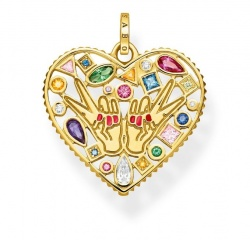 Thomas Sabo Anhänger Love & Peace Gold