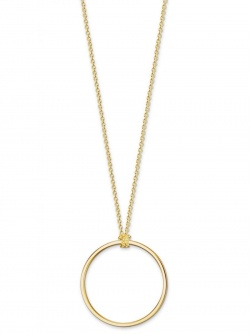 Thomas Sabo Charm Club Collier Kreis Gold